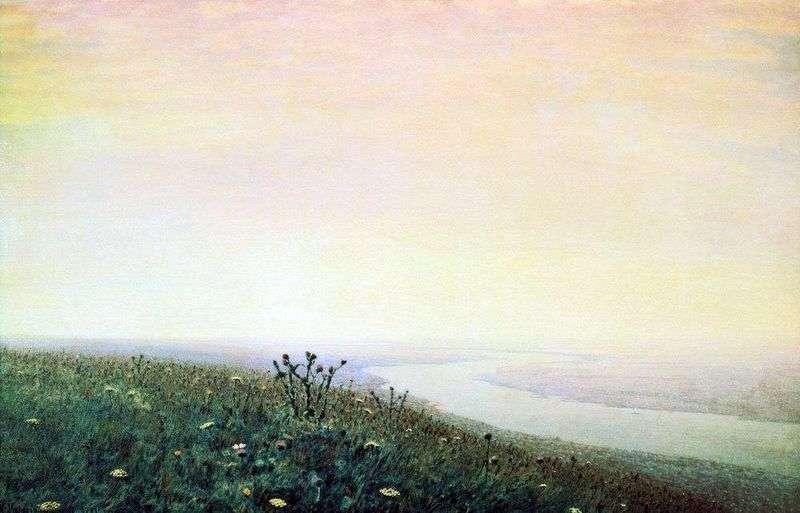Dnepr in the morning by Arkhip Kuinji