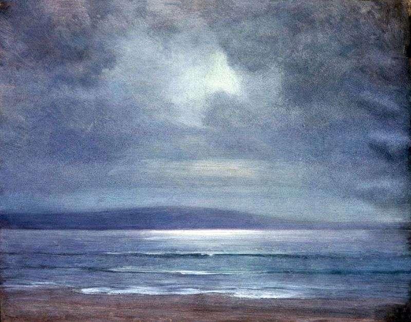 The sea by Arkhip Kuinji