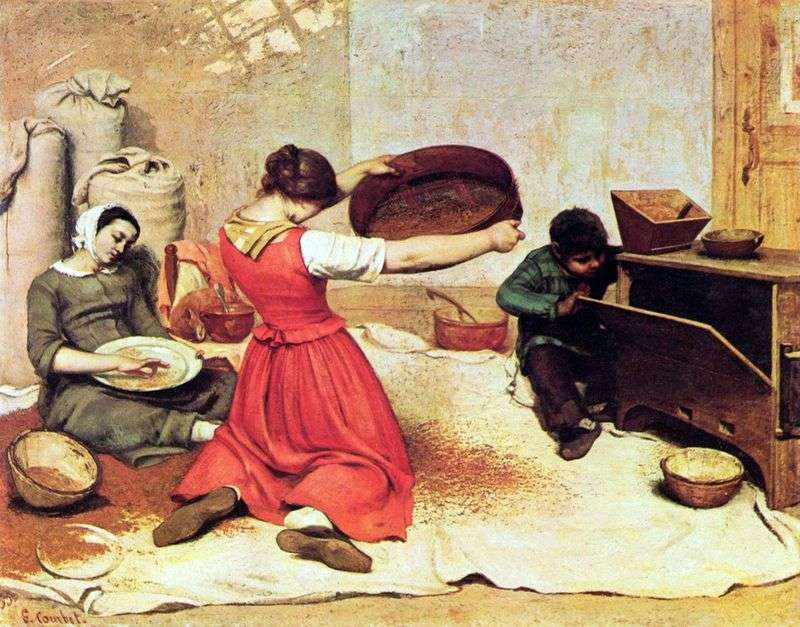 Veilschitsy by Gustave Courbet