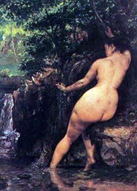 Nu by Gustave Courbet