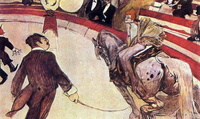 In the circus of Fernando by Henri de Toulouse Lautrec