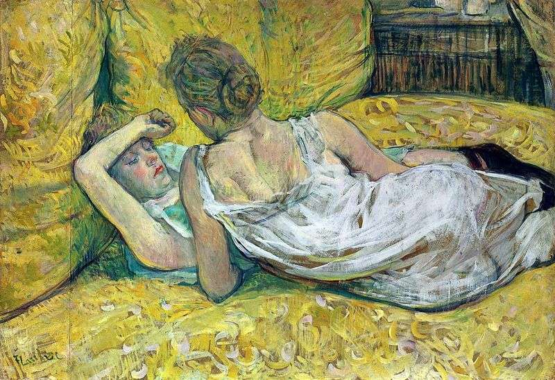 Two friends by Henri de Toulouse Lautrec