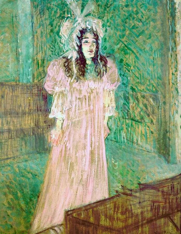 May Belfort by Henri de Toulouse Lautrec