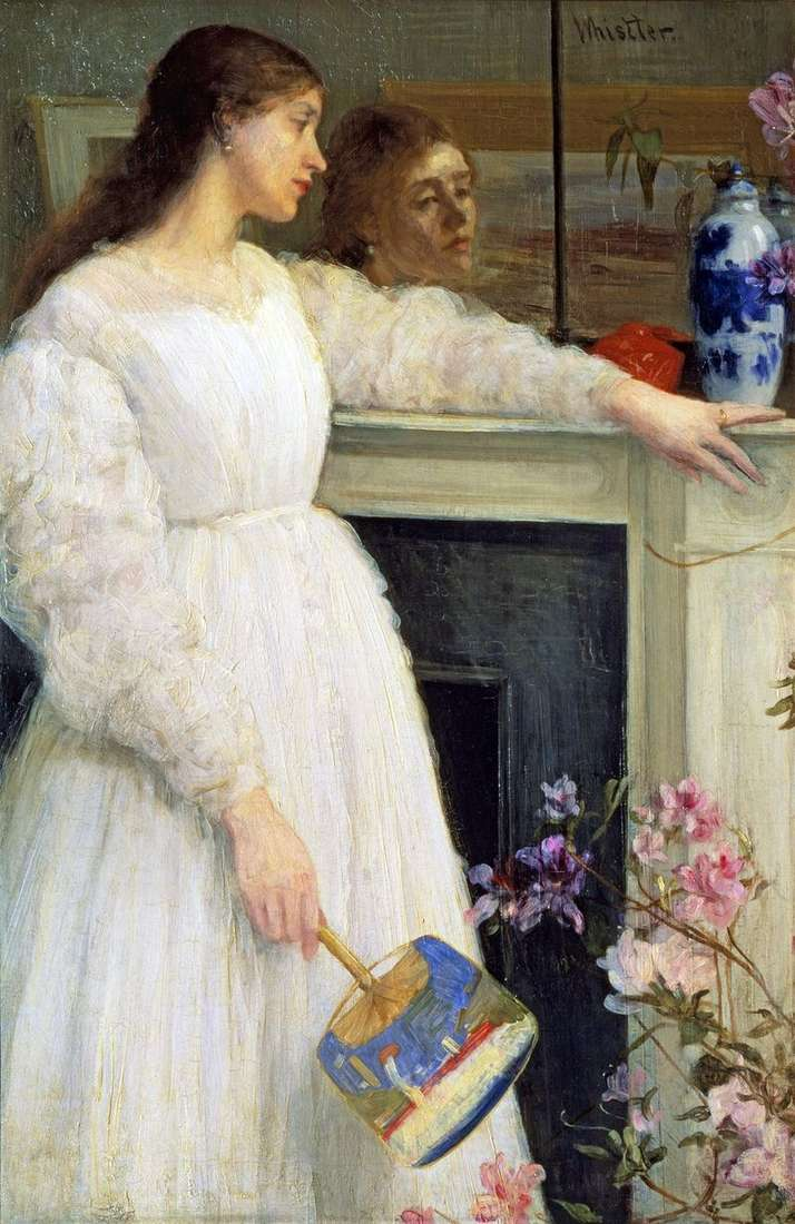 Symphony in White No. 2: A Girl in White by James Whistler