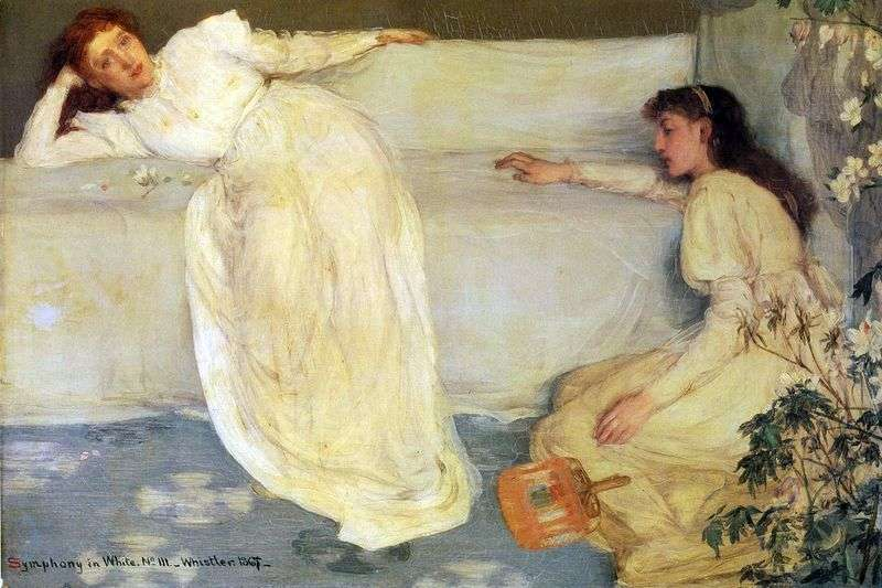 Symphony in White No. 3 by James Whistler
