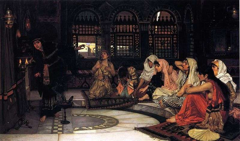 Oracle Predictions by John William Waterhouse
