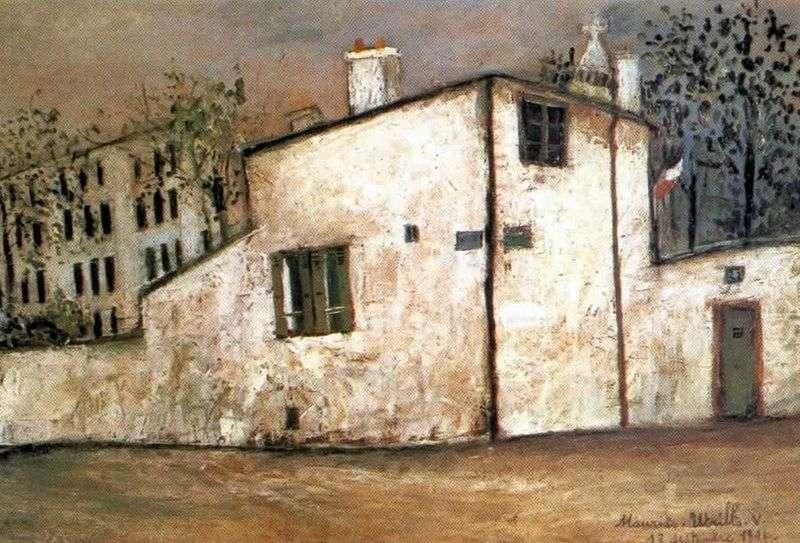 Berlioz House by Maurice Utrillo
