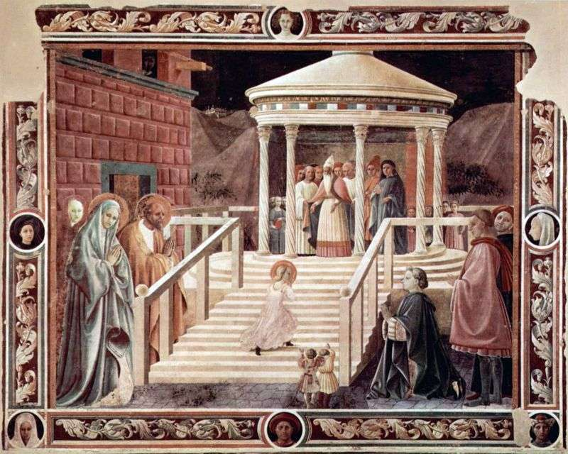 Introduction to the Temple of the Blessed Virgin by Paolo Uccello