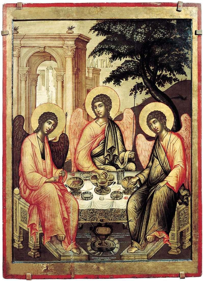 The Trinity of the Old Testament by Simon Ushakov
