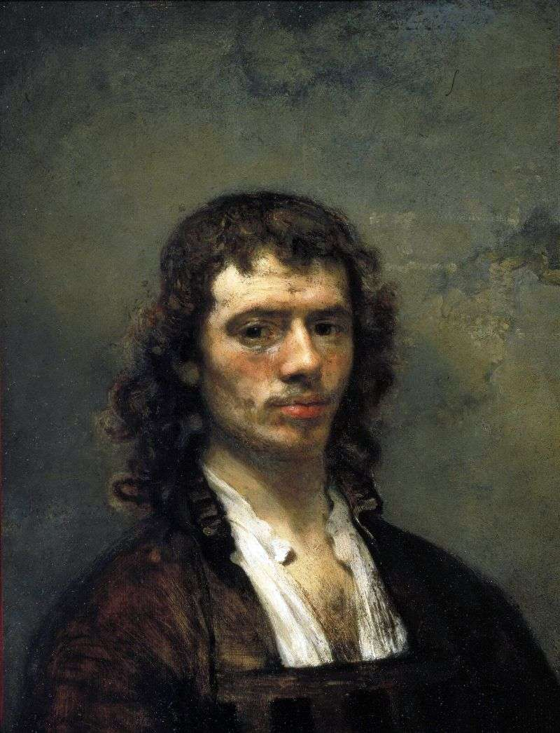 Self portrait by Karel Fabricius