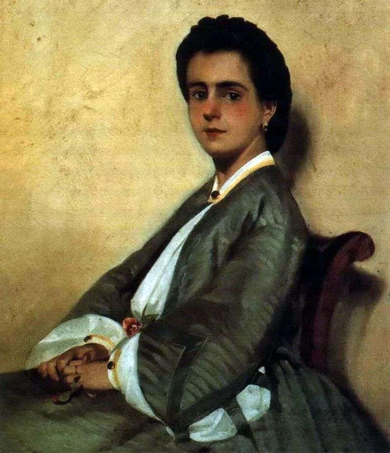 Portrait of Arjias cousin by Giovanni Fattori