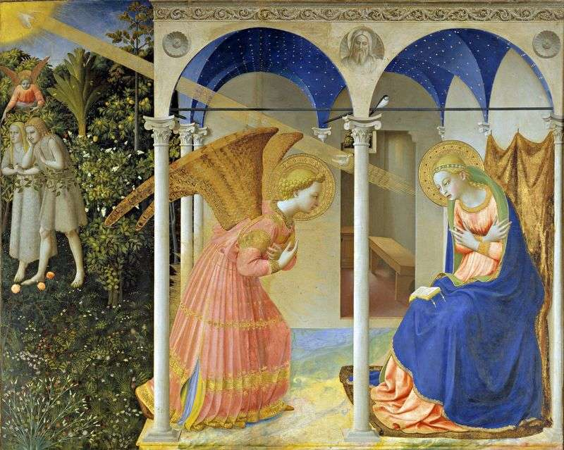 Annunciation by Angelico Fra