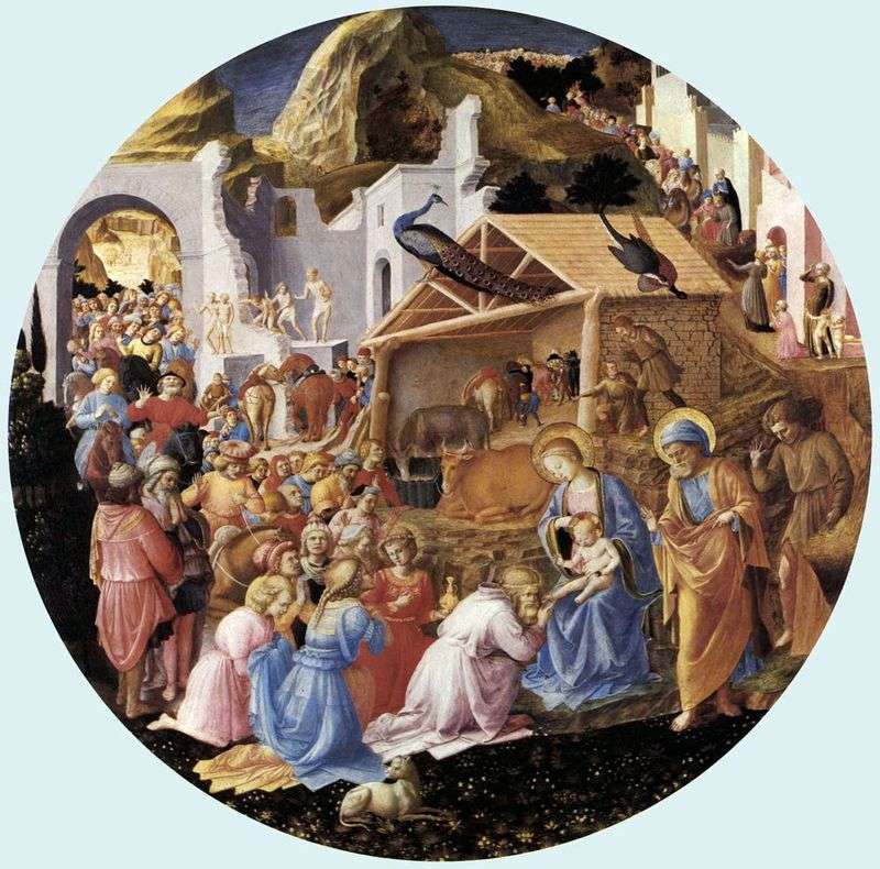 Adoration of the Magi by Angelico Fra