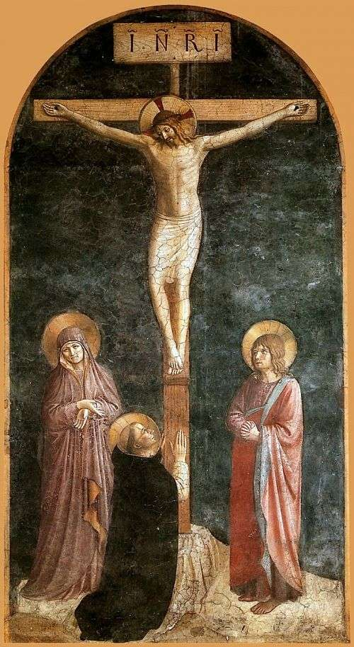 Crucifixion by Angelico Fra