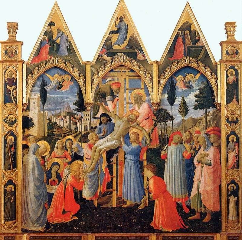 The removal from the cross by Angelico Fra