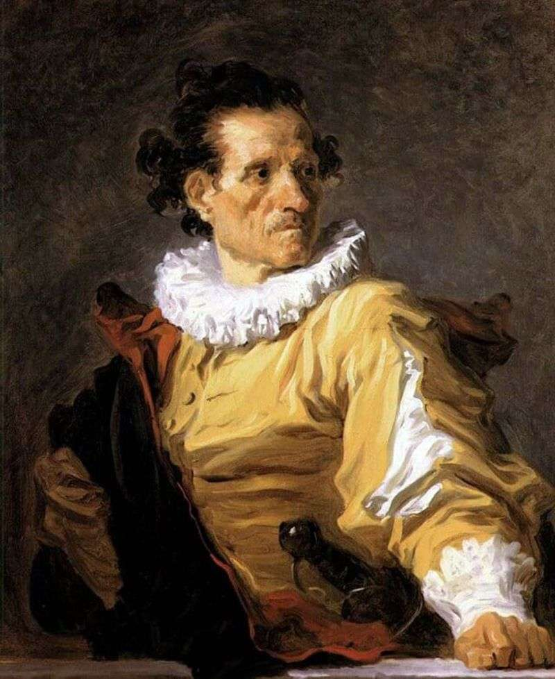 Portrait of the Warrior by Jean Honore Fragonard