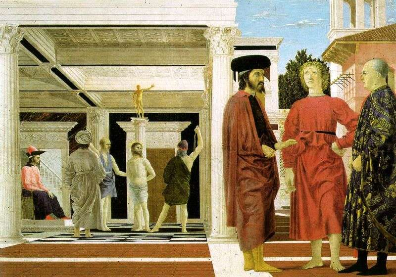 The Scourging of Christ by Piero della Francesca