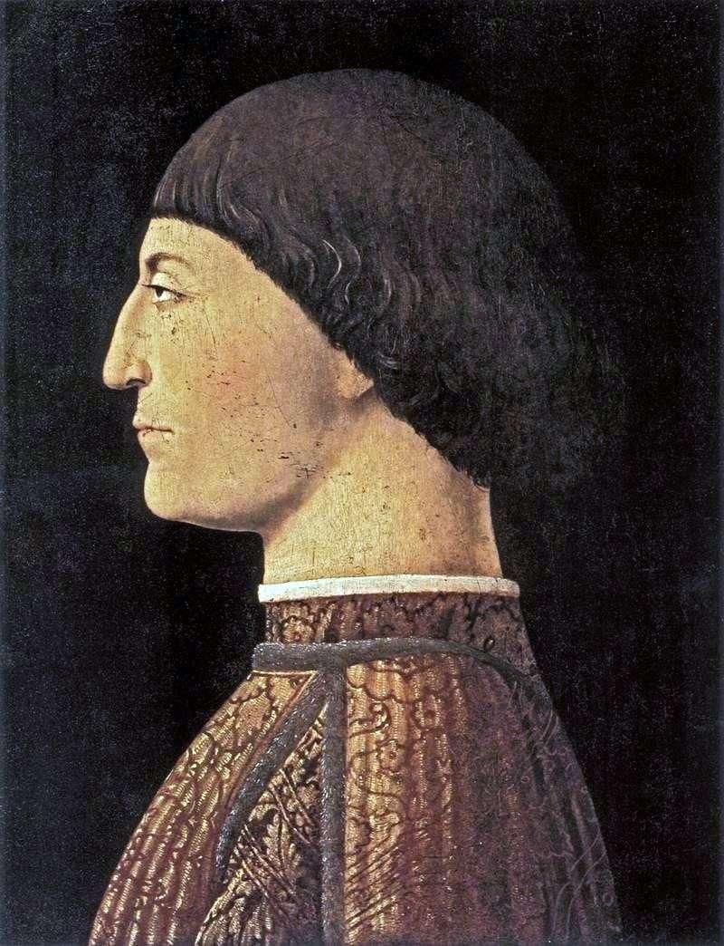 Portrait of Sijismondo Malates by Piero della Francesca