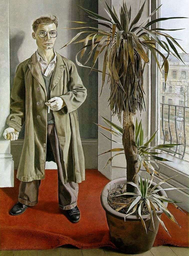 Interior in Paddington by Lucien Freud