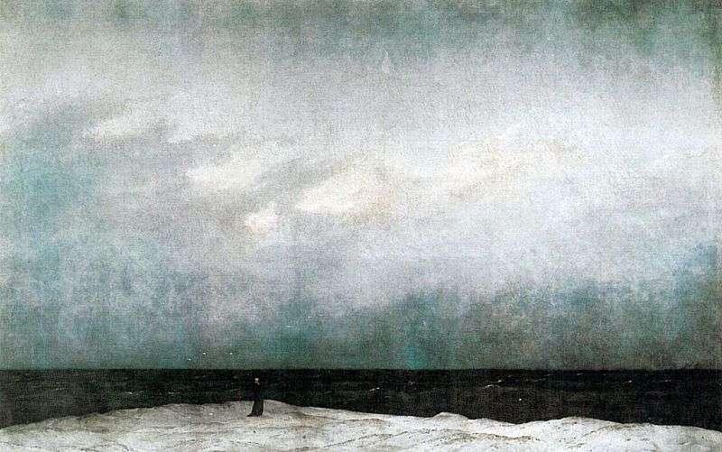 Monk by the Sea by Kaspar David Friedrich