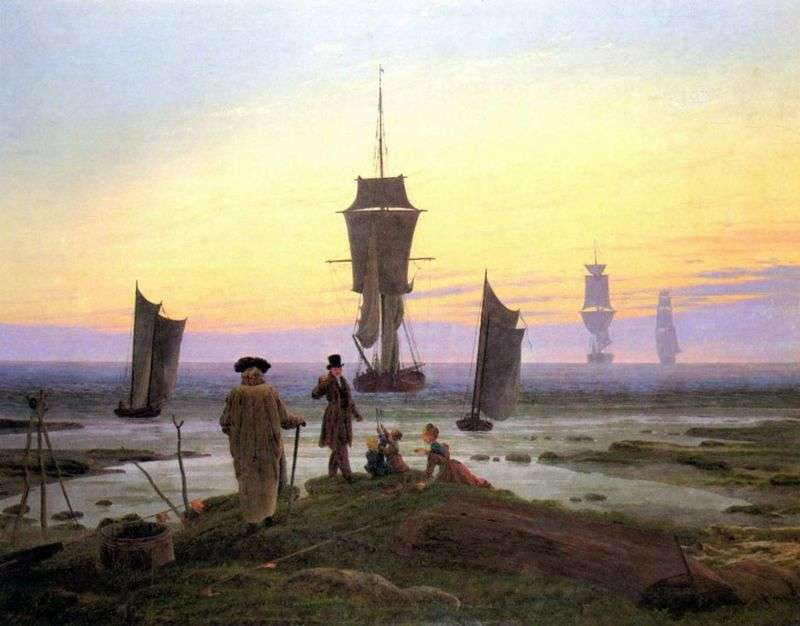 Steps of life by Caspar David Friedrich