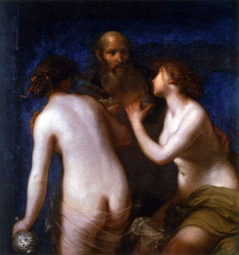 Lot and his daughter by Francesco Furini