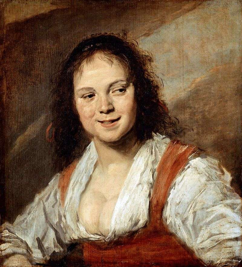 Gypsy girl by France Huls