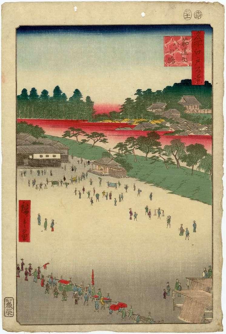 Area of Eight Streets from the Gate Sudzikai by Utagawa Hiroshige