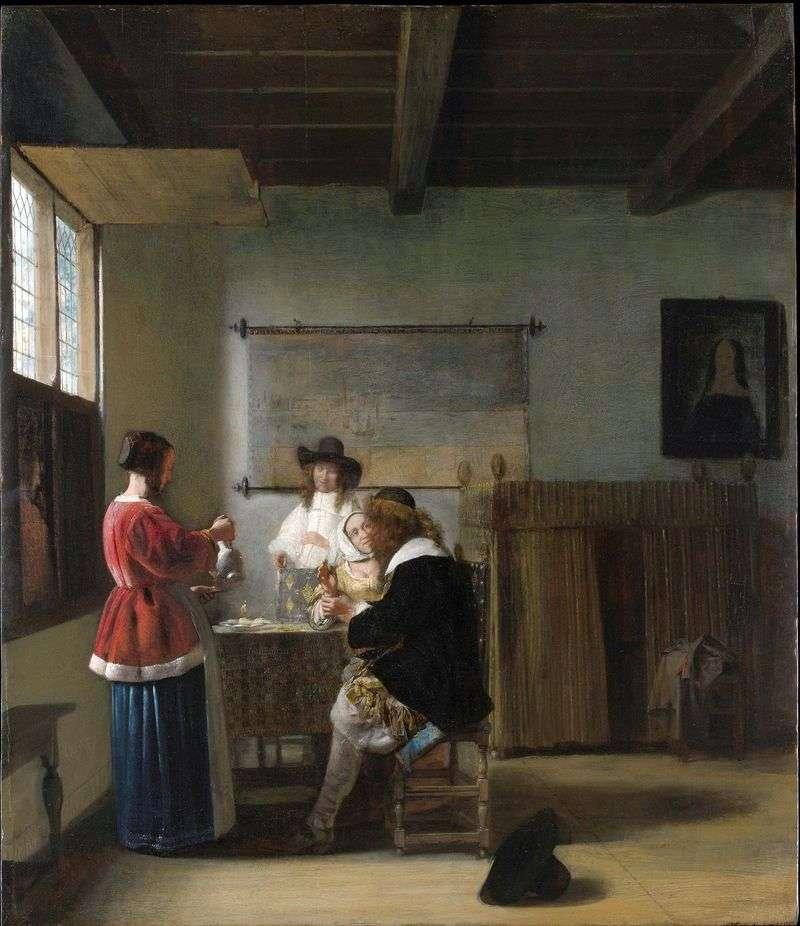 Visit by Peter de Hoch