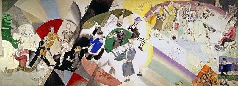 Introduction to the New Jewish Theater by Marc Chagall