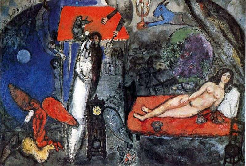 My wife by Marc Chagall