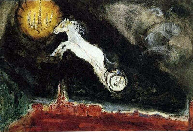 Theater by Marc Chagall