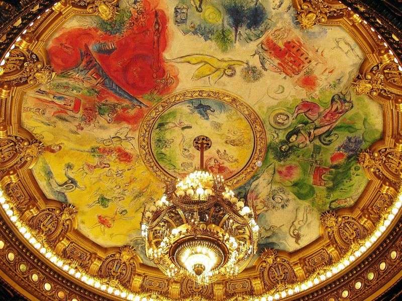Frescoes and mosaics by Marc Chagall