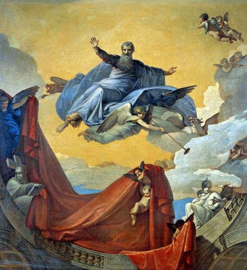 Vision of the Prophet Ezekiel by VK Shebuyev