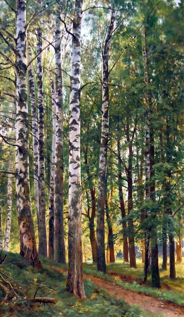 Birch Grove by Ivan Shishkin