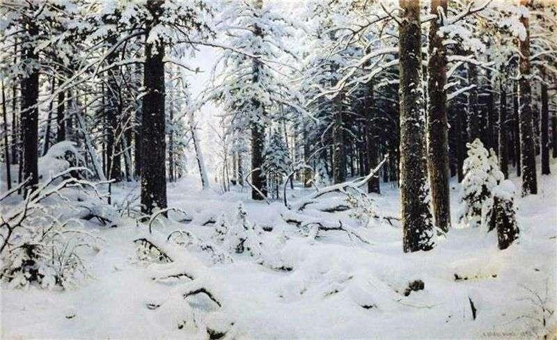 Winter by Ivan Shishkin