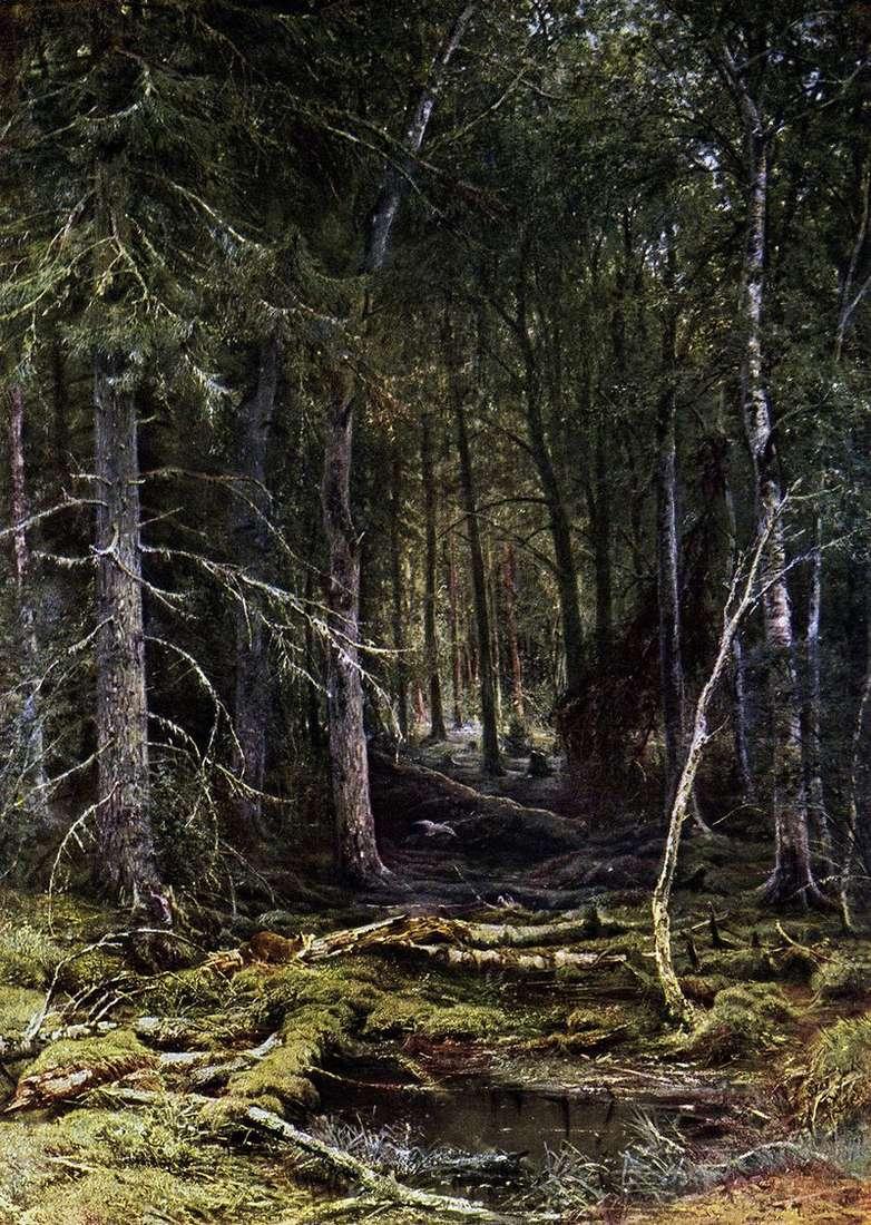 Forest Wilderness by Ivan Shishkin
