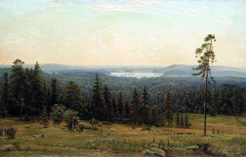 Forest gave by Ivan Shishkin