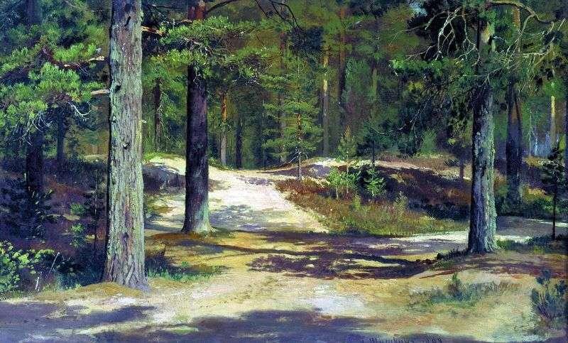 Pine Forest by Ivan Shishkin