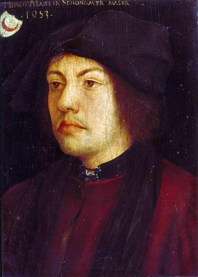 Self Portrait by Martin Schongauer