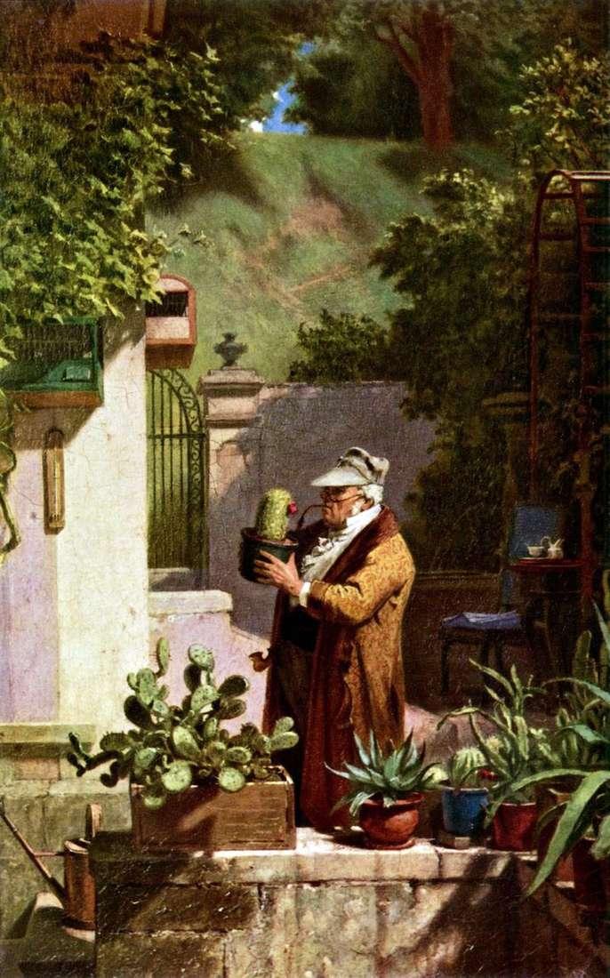 Lovers of cacti by Karl Spitzweg