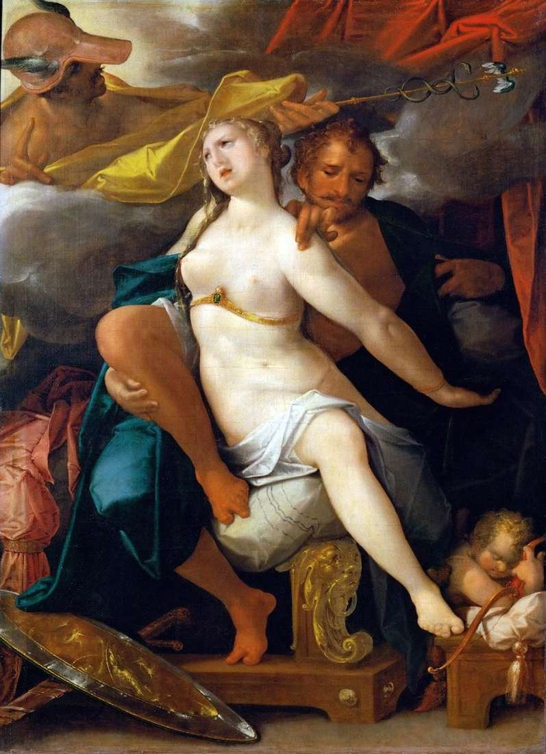 Mercury, Venus and Mars by Bartholomeus Spranger