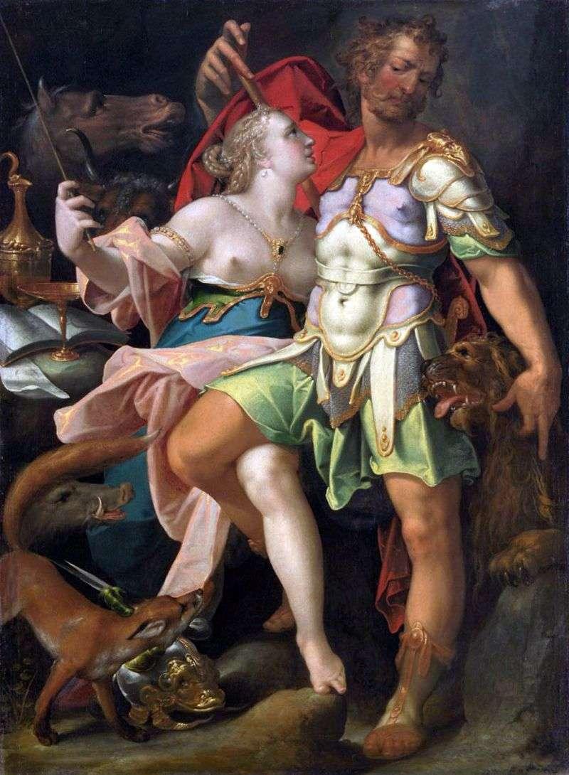 Odysseus and Kirk by Bartholomeus Spranger