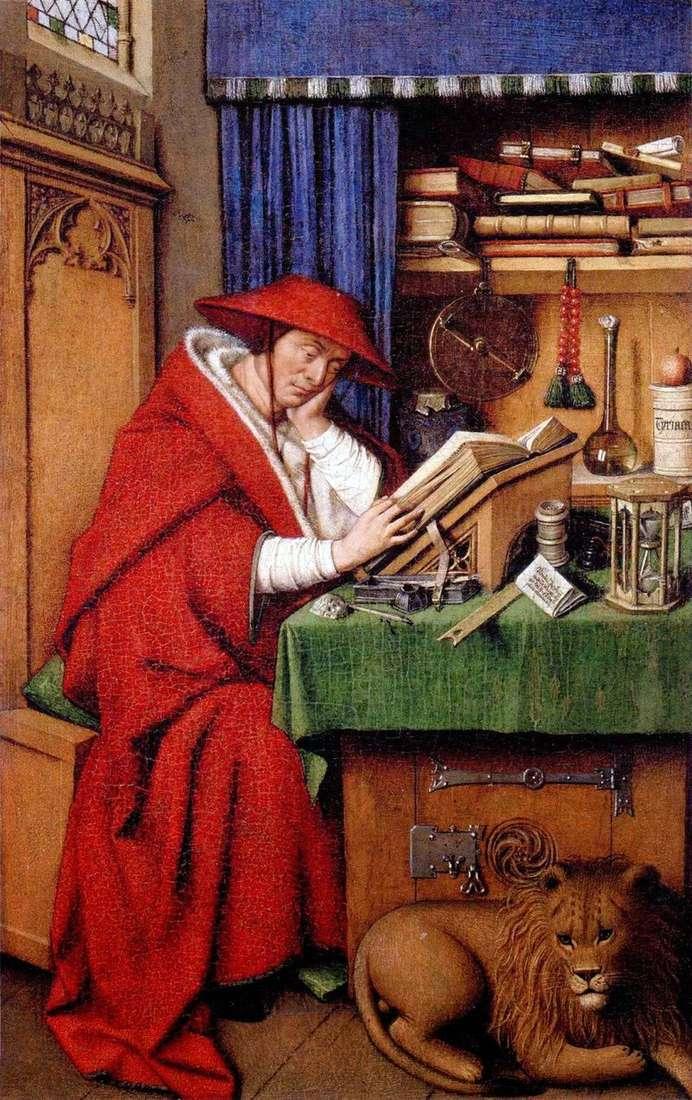 St. Jerome by Jan van Eyck