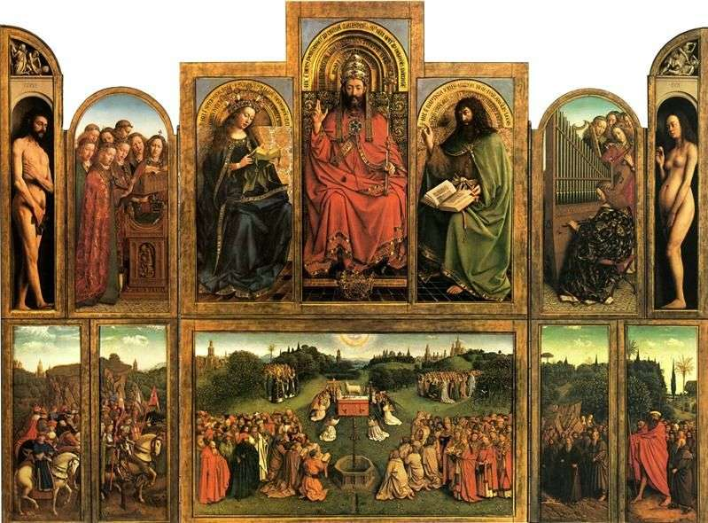 Ghent altar by Jan van Eyck