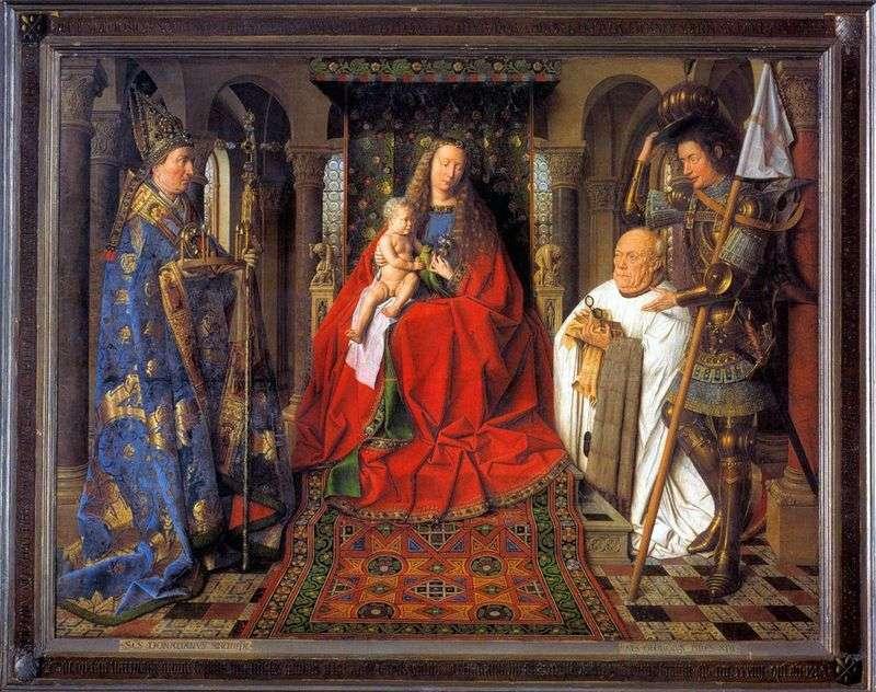Madonna canon van der Palet by Jan van Eyck