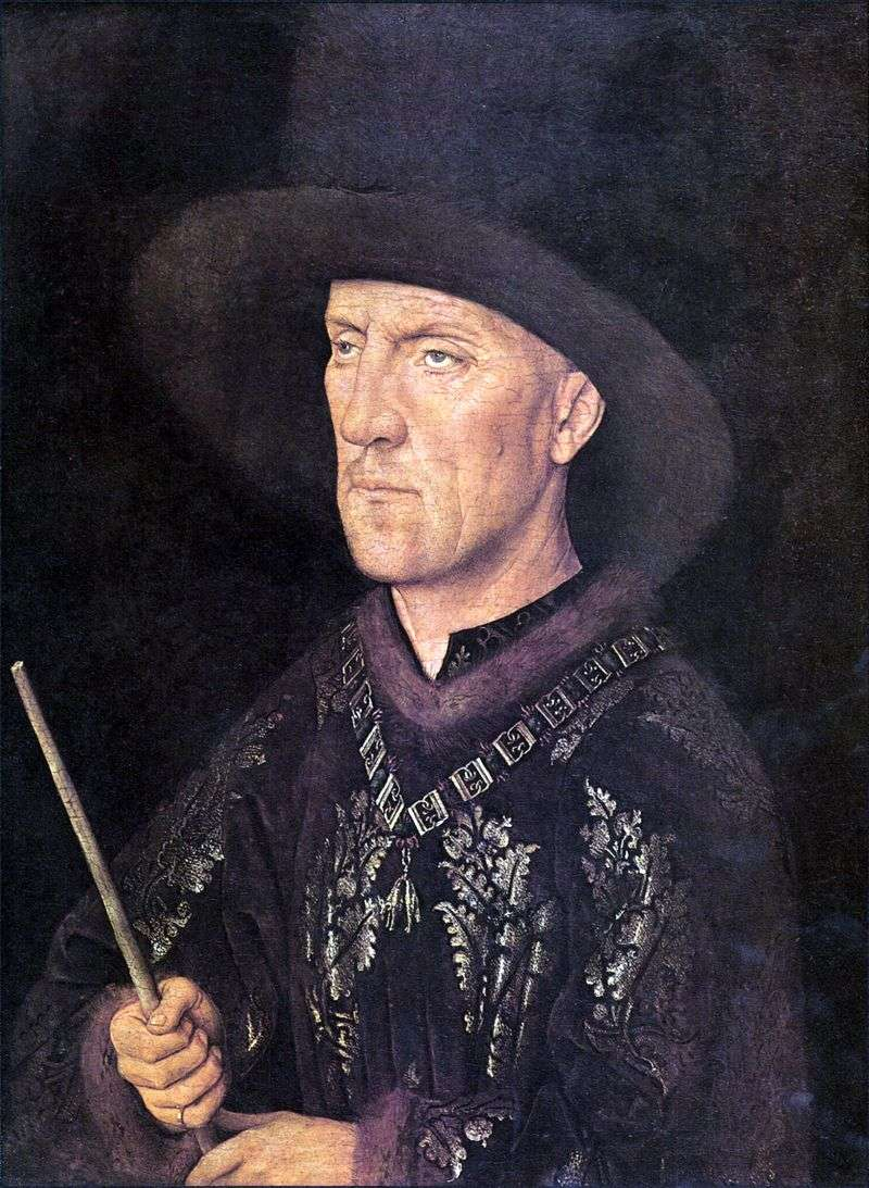 Portrait of Baudouin de Lanoi by Jan van Eyck
