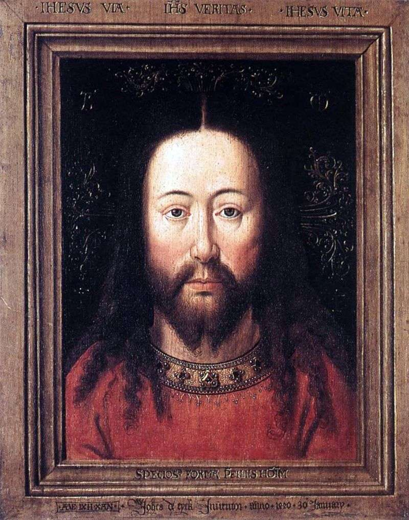 Portrait of Christ by Jan van Eyck