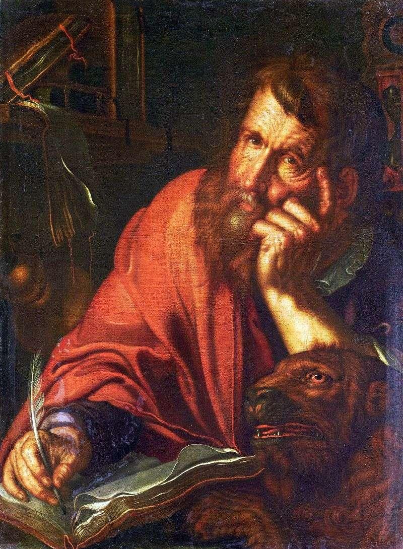 Evangelist Mark by Joachim Eytale
