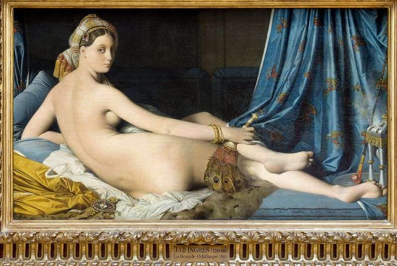 The Great Odalisque by Jean Auguste Dominique Ingres